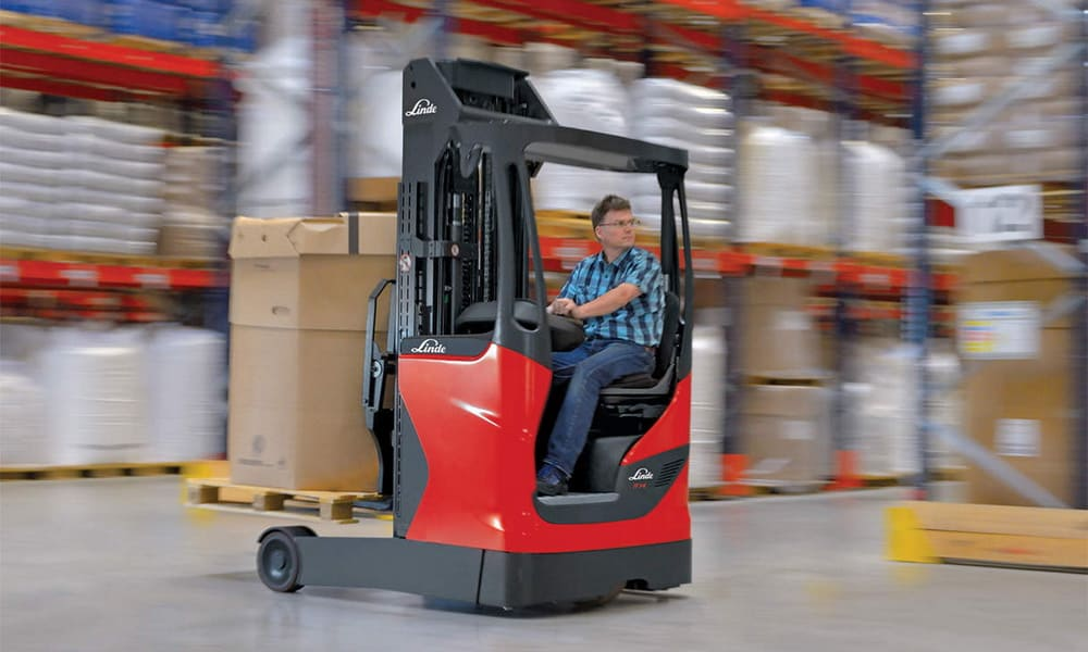 what is a reach truck blog post from mk2 lift trucks