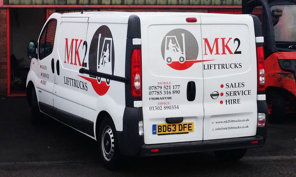 MK2 Lift Trucks Forklift Service and Maintenance