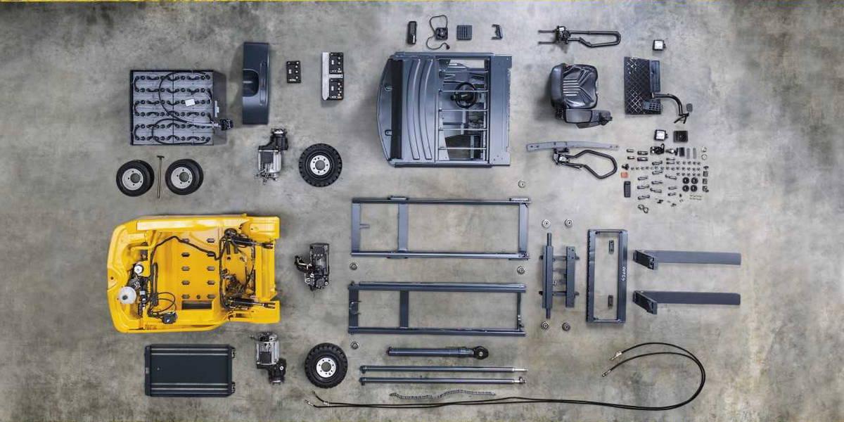 OEM Forklift Spares from MK2 Lift Trucks